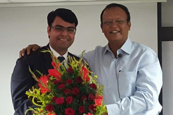 TARUN VERMA 2nd RANK IN HARYANA JUDICIAL EXAMS,2014, WITH RAHUL SIR.