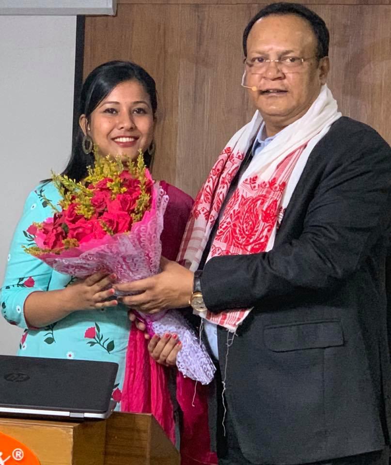 Jyoshlobi Dutta, 1st rank, Assam Judiciary exams, 2019