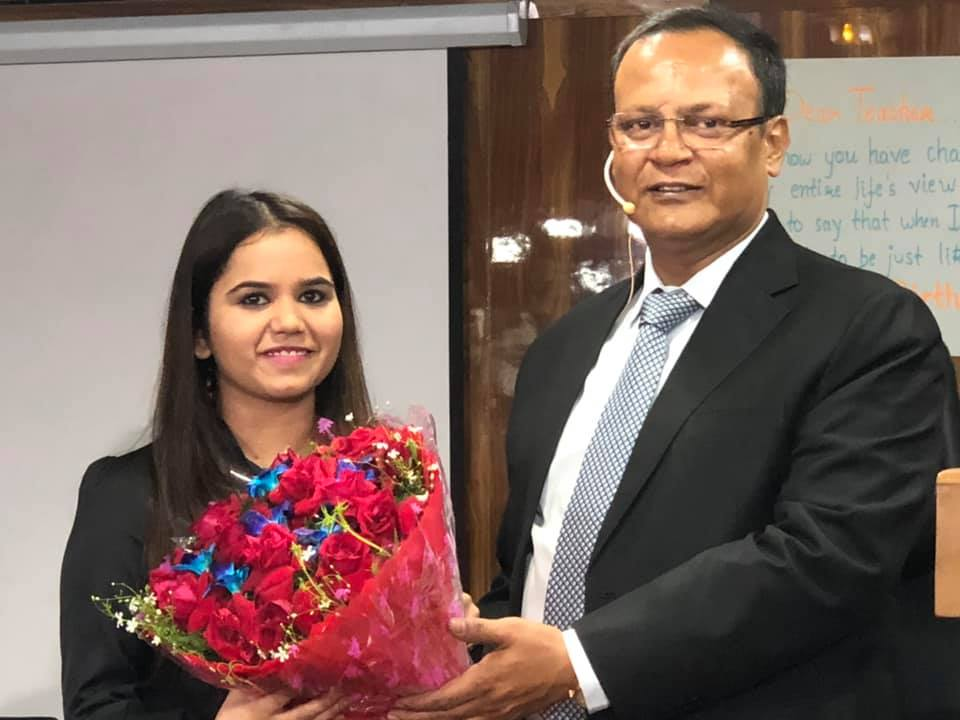 KOMAL ANJNA, 10th RANK IN MP JUDICIAL EXAMS, 2019, WITH RAHUL SIR.
