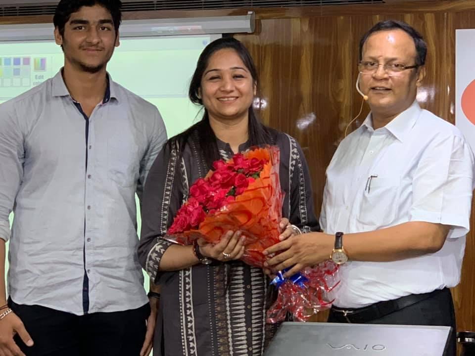 SANYA DALAL , 33rd RANK IN DELHI JUDICIAL EXAMS, 2019 (MAY), WITH RAHUL SIR.