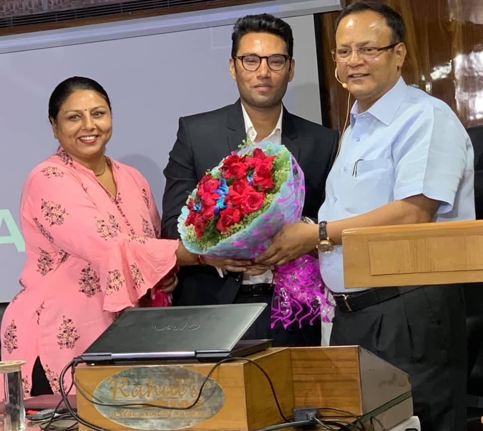 UDHBHAV KUMAR JAIN, 50th RANK IN DELHI JUDICIAL EXAMS, 2019 (MAY), WITH RAHUL SIR.