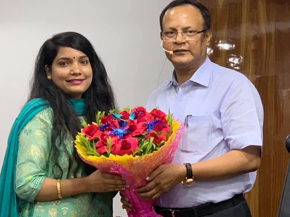 AISHWARYA SHARMA, 32nd RANK IN DELHI JUDICIAL EXAMS, 2019 (MAY), WITH RAHUL SIR.