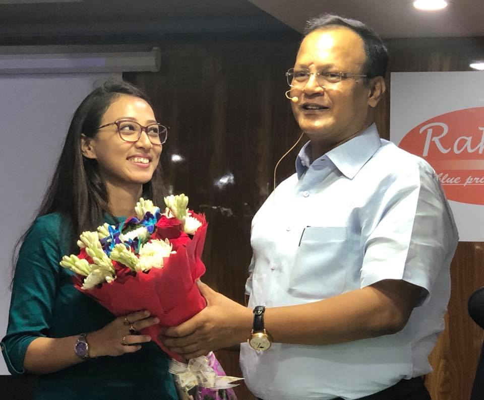 ELIZABETH HAZARIKA, SELECTED IN ASSAM JUDICIAL EXAMS, 2018, WITH RAHUL SIR.