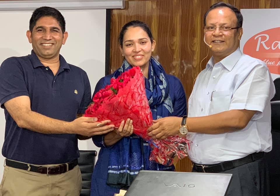 PRIYA JHANGU, 70th RANK IN DELHI JUDICIAL EXAMS, 2019 (MAY), WITH RAHUL SIR.